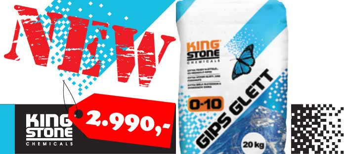 Kingstone Gips Glett