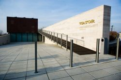 Leier Centrum finomszórt burkolólap - világosszürke - 45 x 45 x 12 cm