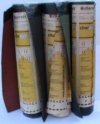 Charvát charBIT V-60 S37 Final piros, zöld ( 3,7 mm ) hegeszthető bitumenes zárólemez