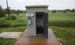 Leier ASK I. automata sorompó kapcsolóház