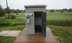 Leier ASK II. automata sorompó kapcsolóház