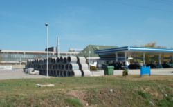 Leier TA 80/100 talpas betoncső, csaphornyos illesztéssel