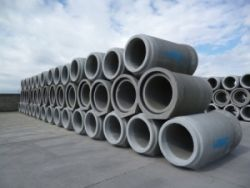 Leier TO TA 80/200 L/I tokos-talpas betoncső integrált gumitömítéssel
