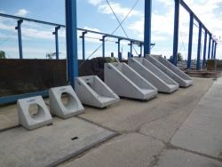 Leier LEF 100 1:1,5 betoncső előfej