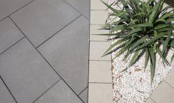 Semmelrock Senso Grande térkő 20x20x8 - szürke-barna melírozott