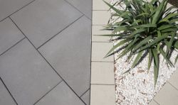 Semmelrock Senso Grande térkő 20x20x8 - szürke-barna
