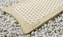 Semmelrock Shade strukturált lap 100x40/30x4 cm - mészkőfehér
