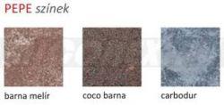Frühwald Pepe térkő - 80x120x6 cm - barna melír