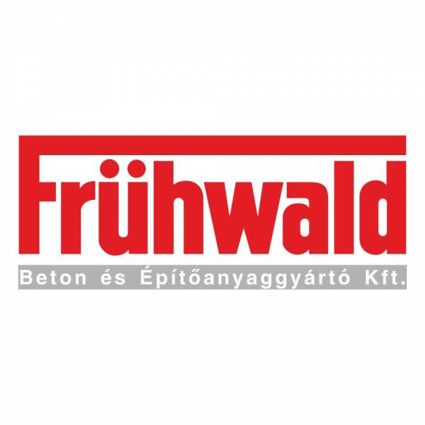 Frühwald Via Fortuna térkő normálkő - 16x16x6 cm - titánpiros
