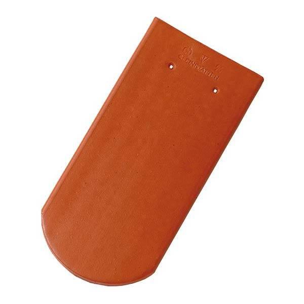 Tondach hódfarkú íves vágású alapcserép piros 19×40 cm