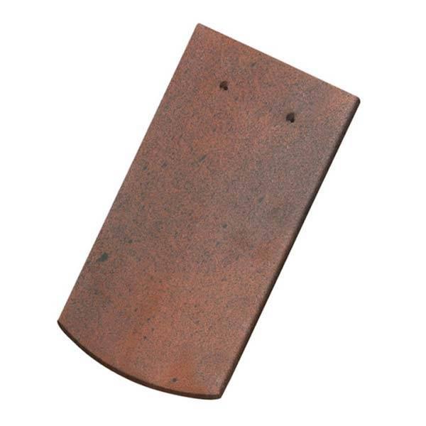 Tondach hódfarkú szegmensvágású alapcserép antik 19×40 cm