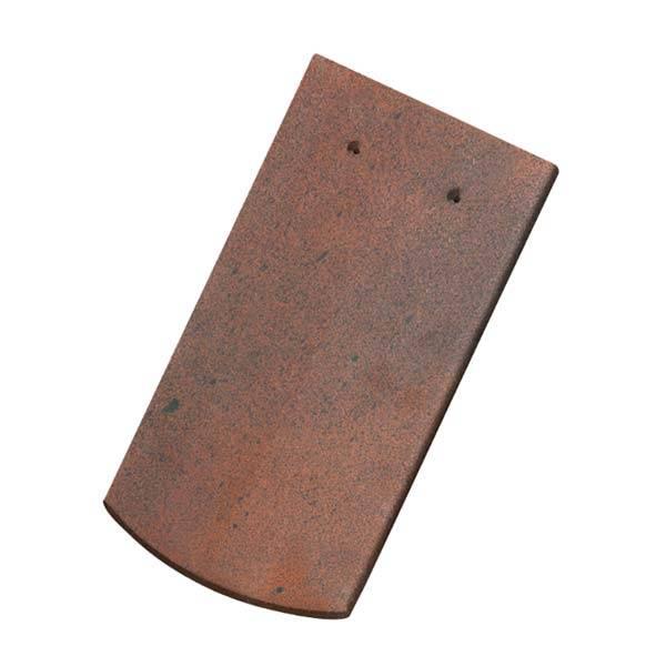 Tondach hódfarkú szegmensvágású alapcserép antik 18×38 cm