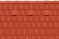 Tondach hornyolt hullámos ívesvágású tetőcserép téglavörös