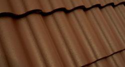 Terrán Synus Colorsystem tetőcserép barna
