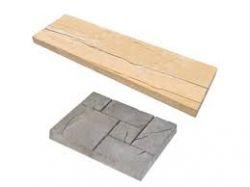 Frühwald Woodstock Brett deszka hatású betonlap - barna