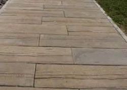 Frühwald Woodstock Brett deszka hatású betonlap - antracit