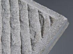 Frühwald Sparta strukturált járdalap - 40x40x3,8 cm - szürke