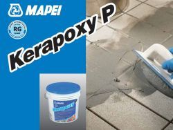 Mapei kerapoxy P kétkomponensű saválló epoxi fugázóanyag 113 cementszürke 5 kg