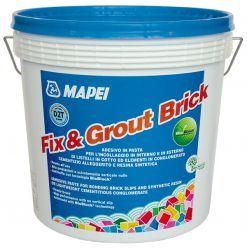 Mapei Fix & Grout Brick diszperziós ragasztó szürke 12 kg
