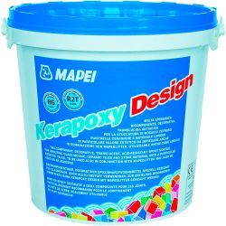 Mapei kerapoxy Design kétkomponensű saválló epoxi fugázóhabarcs 134 selyem 3 kg