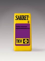 Sakret TKV Tufás-meszes injektálóhabarcs