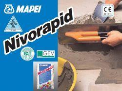 Mapei Nivorapid ultragyors kötésű simítóhabarcs 25 kg