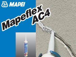 Mapei mapeflex AC 4 egykomponensű, diszperziós akril hézagkitöltő 310 ml szürke
