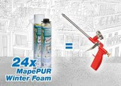 Mapei Mapepur Winter Foam M téli kézi hab - 750 ml