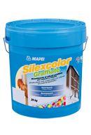 Mapei Silexcolor Graffiato páraáteresztő, kapart hatású szilikát vékonyvakolat - 20 kg - fehér
