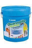 Mapei Quarzolite Graffiato SP gördülőszemcsés, akril alapú vékonyvakolat - 20 kg - fehér