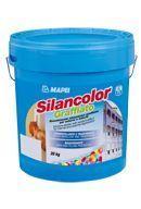 Mapei Silancolor Graffiato páraáteresztő, vízlepergető kapart hatású sziloxán bevonat - 20 kg - fehér