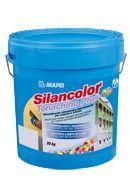 """Mapei Silancolor Tonachino Plus páraáteresztő, vízlepergető mohásodás és penészedésgátló sziloxán vékonyvakolat - 20 kg - """"A"""" színcsoport"""