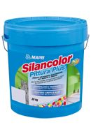 Mapei Silancolor Pittura Plus páraáteresztő, vízlepergető mohásodás- és penészedésgátló sziloxán alapú festék - 20 kg - fehér