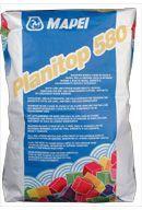 Mapei Planitop 580 mész és gipsz bázisú simítóanyag - 15 kg - fehér