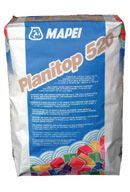 Mapei Planitop 520 cementkötés habarcs egyenetlen felületek simítására - 25 kg - fehér