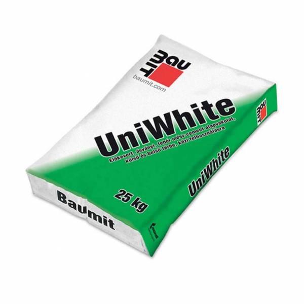 Baumit UniWhite külső és belső vakolat fehér 25kg