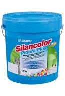Mapei Silancolor Pittura Plus páraáteresztő, vízlepergető mohásodás- és penészedésgátló sziloxán alapú festék - 5 kg - fehér