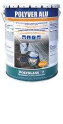Mapei Polyver Alu bitumen és alumínium por tartalmú, oldószeres védő bevonat - 20 l