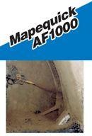Mapei Mapequick AF1000 alkálimentes, folyékony kötésgyorsító szer - 1000 l