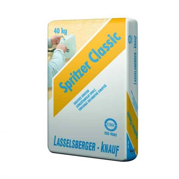 Lb Spritzer Classic fröcskölt színezővakolat - 40 kg - fehér