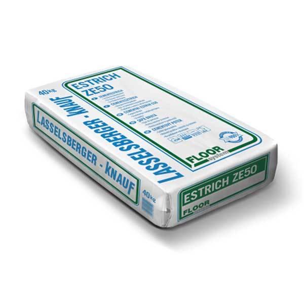 LB Estrich ZE50 - cementesztrich - 40 kg