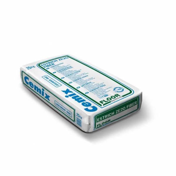 LB-Knauf Estrich ZE20 Fiber Proroc szálas - cementesztich szálerősítéssel - 25 kg