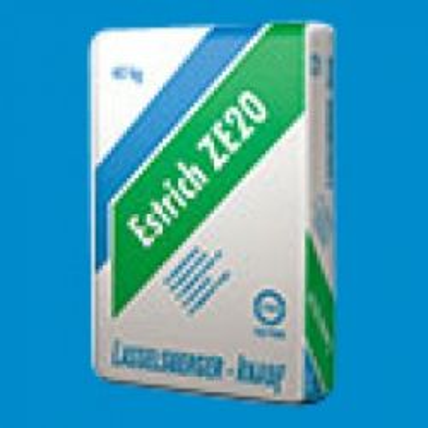 LB-Knauf Estrich ZE20 Fiber Proroc szálas - cementesztich szálerősítéssel - 40 kg