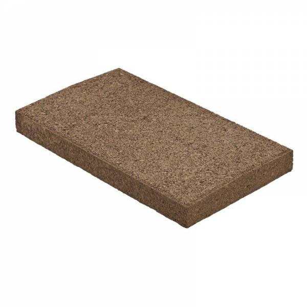 Semmelrock Rivago kerítés fedlap 47x27x5 cm - mokka