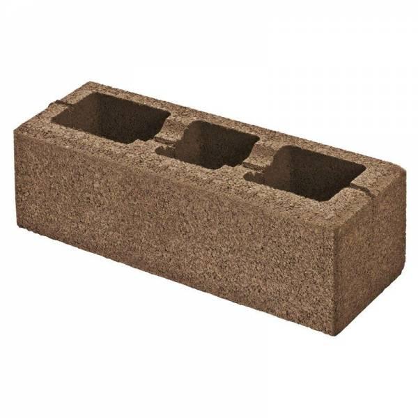 Semmelrock Rivago nagykő - 60 x 20 x 16 cm - mokka