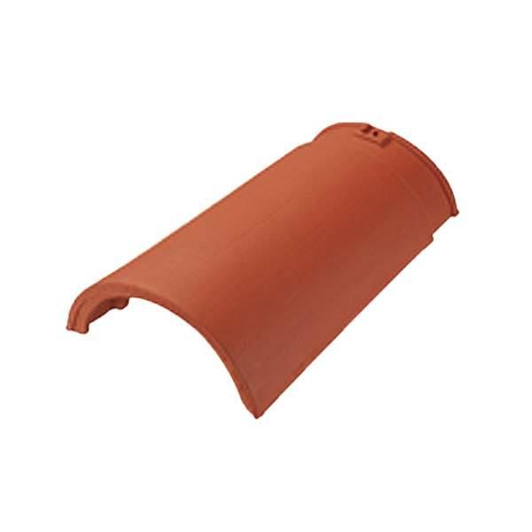 Tondach Rumba sajtolt sima gerinccserép gerincrögzítővel rézbarna színben