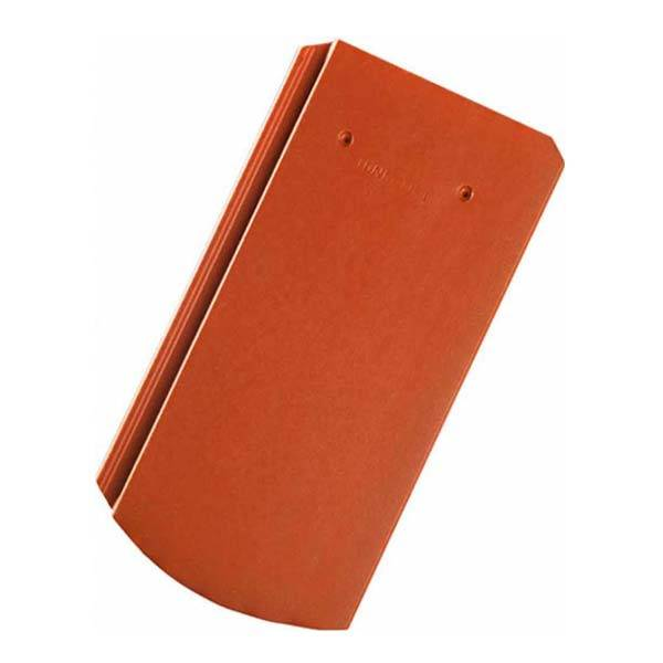 Tondach Pilis Max ívesvágású tetőcserép piros