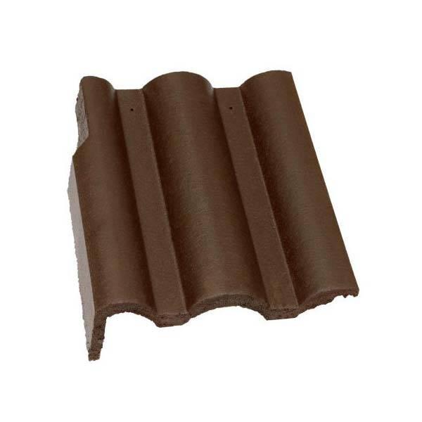 Bramac Római Protector szegélycserép barna jobbos