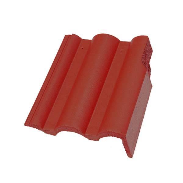 Bramac Római Protector szegélycserép rubinvörös jobbos