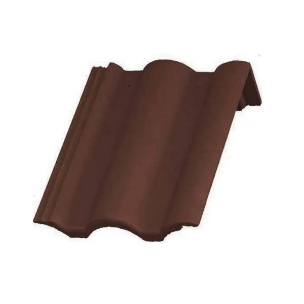 Bramac Római Protector félnyeregtető cserép barna